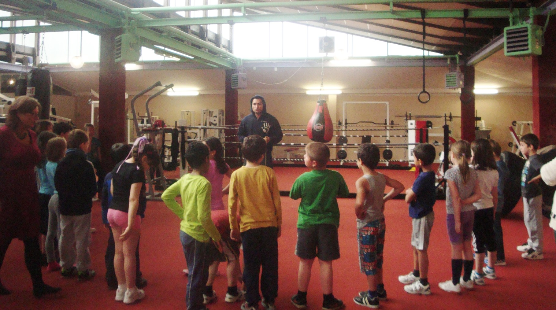 Kinder-Fitnessboxen bei der Boxschule Culcay